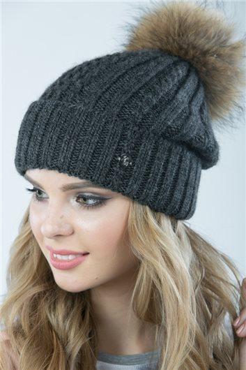 шапка М-357 графит
