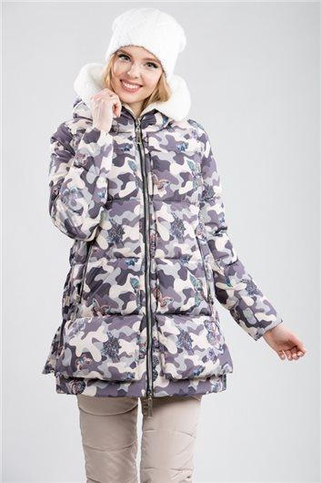 Куртка М-359 камуфляж бежевый