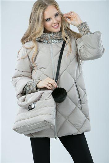Куртка М-355 бежевая