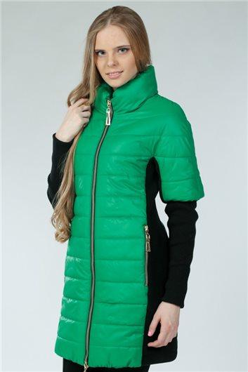 Пальто-трансформер М-177 зеленый