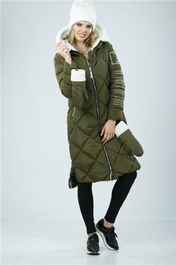 Пальто М-3421 Хаки