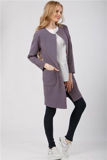 Пальто летнее М-324 розовый