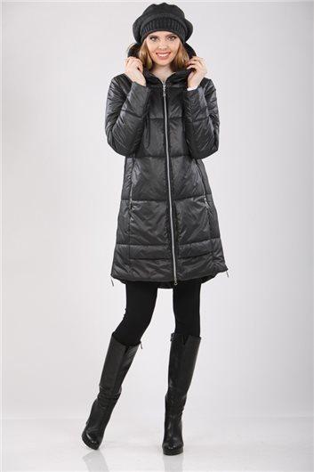 Пальто  М-336 графит
