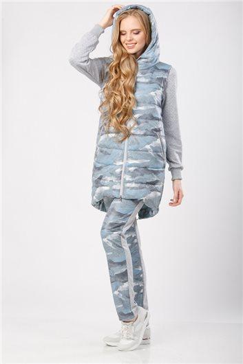 Жилет м-311 голубой камуфляж