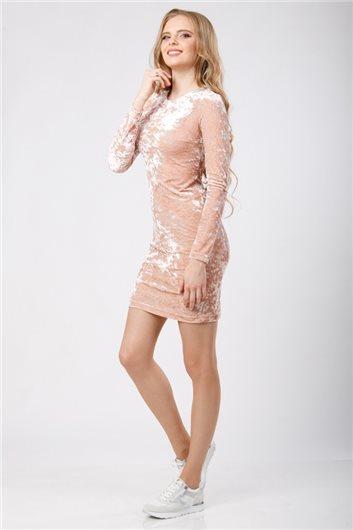 Платье М-320 розовое