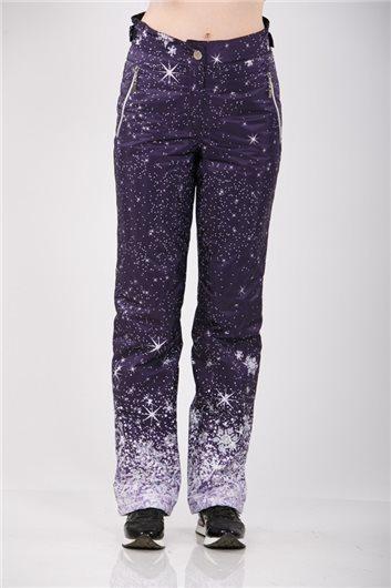 Брюки М-150 звезды фиолет