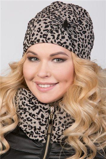 Шапочка м-258 леопард
