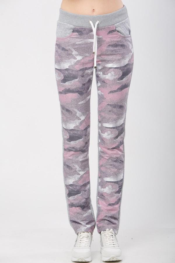 брюки М-251 розовый камуфляж